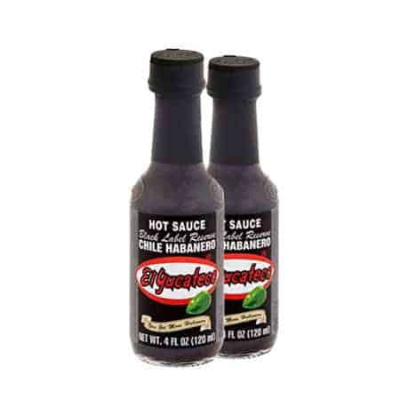El Yucateco Black Label Reserve Chile Habanero hot sauce