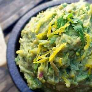 Laura Bush's guacamole recipe