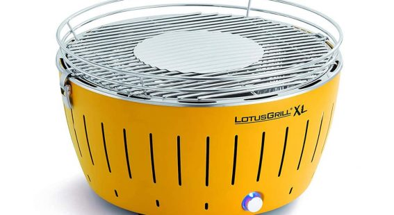 LotusGrill smokeless barbecue grill