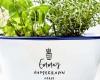 Personalized enamel planter