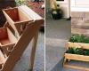 Vertical garden bins
